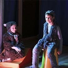 Приглашаем детей 3-4 и 5-8 лет в Театральную студию!